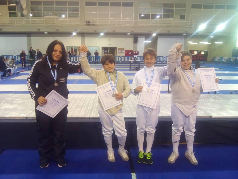 Πανελλήνιο Πρωτάθλημα Σπάθης Παμπαίδων 2017