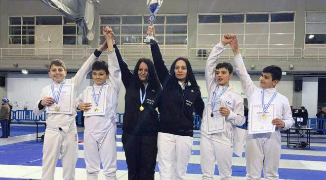 Πανελλήνιο Πρωτάθλημα Παμπαίδων 2017 Ξίφος Ασκήσεως